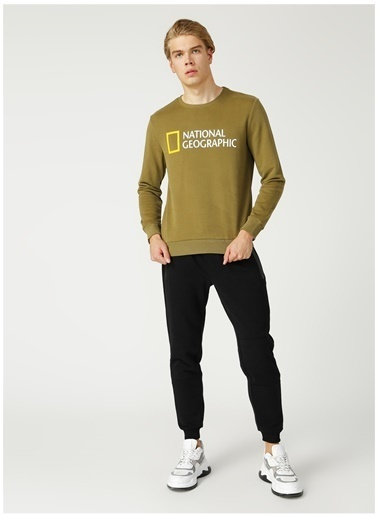 National Geographic Sweatshirt Haki